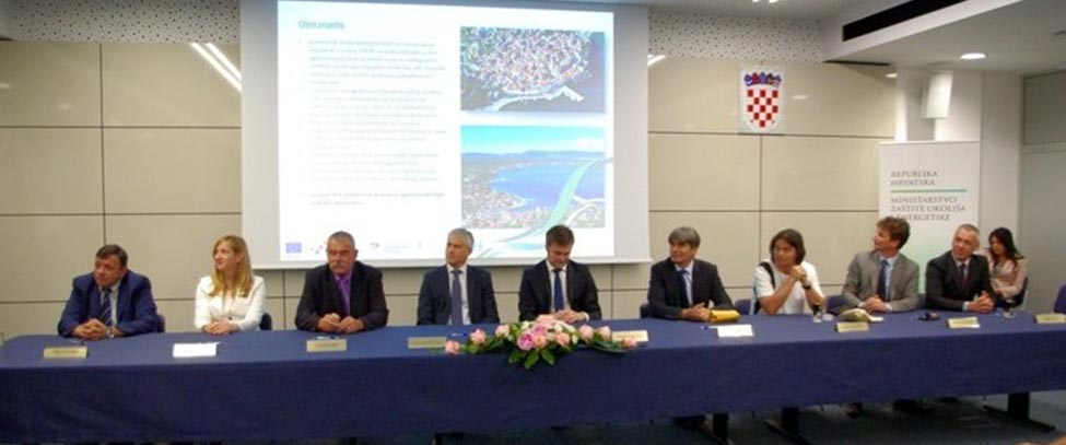 EUR 225 million from EU funds for 8 water infrastructure projects in Croatia