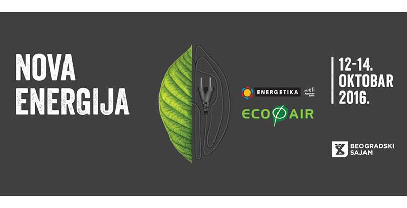 International Energy and Environment Fair (ECOFAIR) in Belgrade in October