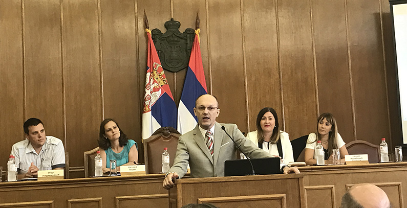 Minister Trivan announces running a tight ship on environmental fee payments and PPP agreement for Vinča