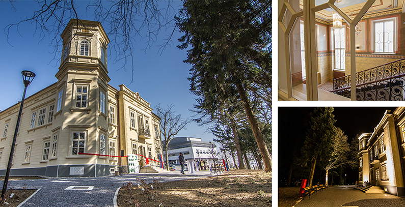 Transformation of ruined Bračak castle into modern energy efficient center