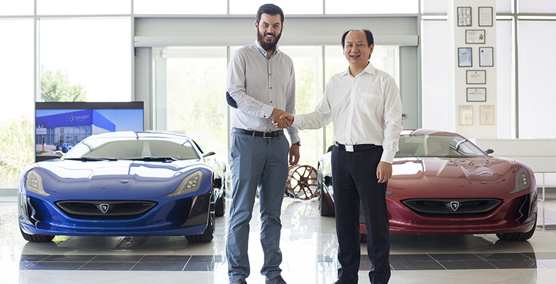 Rimac Automobili signs EUR 30 million deal with battery maker Camel Group