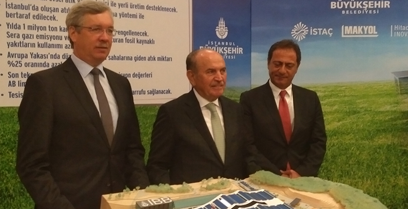 Hitachi Zosen Inova company to build first waste-to-energy plant in Istanbul