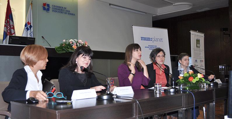 Women panel, Green Economy Congress 2017, Belgrade