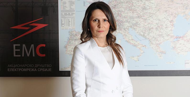 Jelena Matejić appointed General Manager of Serbian TSO Elektromreža Srbije