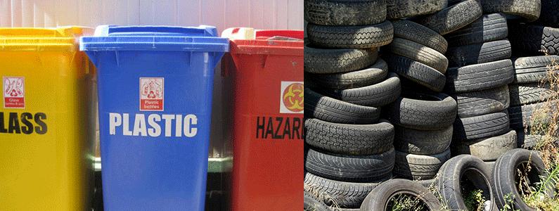 otpad, reciklaza i gume