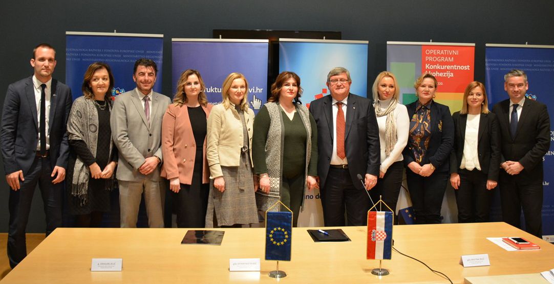 Agreements signed on financing sustainable development of seven Croatian cities