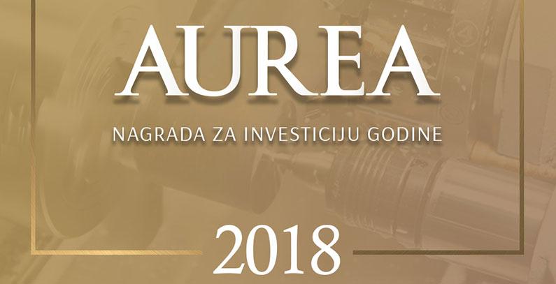 Portal eKapija opened Aurea 2018 award contest for Investment of the Year