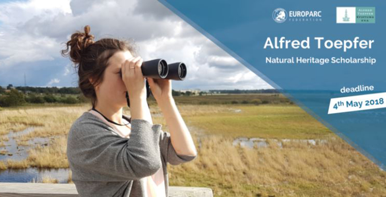 Open call for Alfred Toepfer Natural Heritage Scholarships 2018