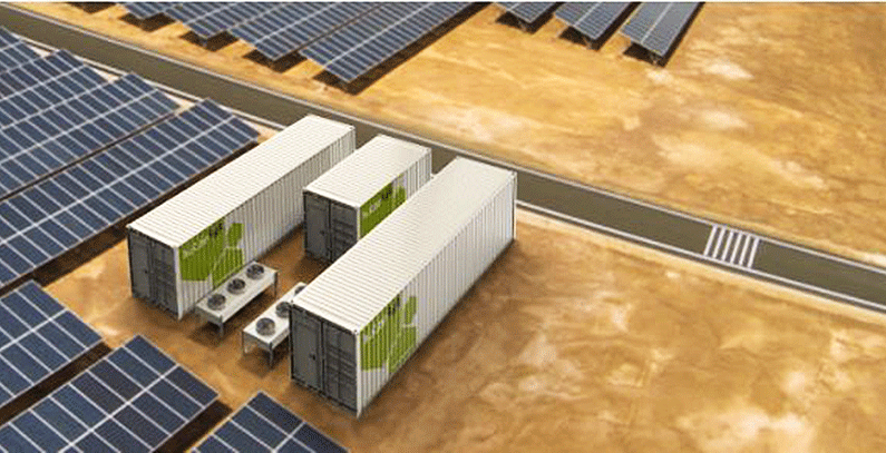 Innovative renewable energy storage project, possible solution for Med islands