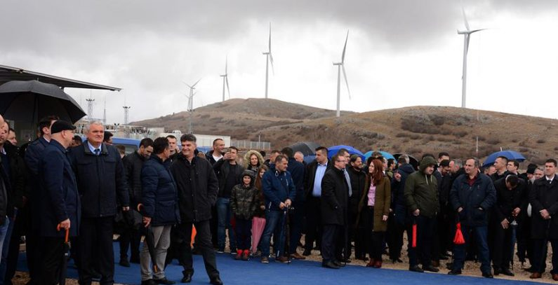 Mesihovina, the first wind farm in Bosnia & Herzegovina connected to grid