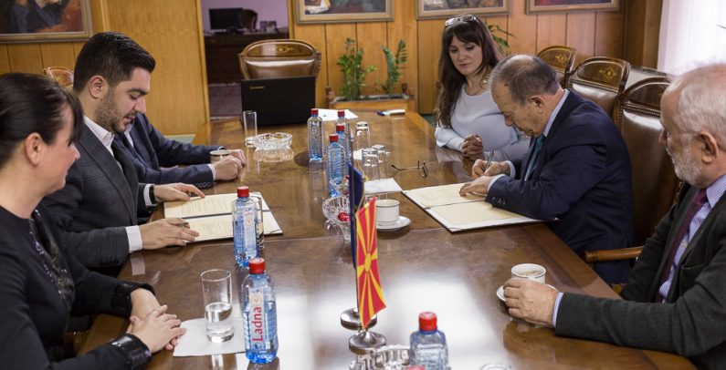 Macedonian Government, Academy of Sciences sign memorandum on sustainable development