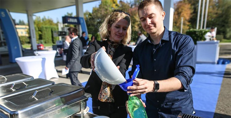First ton of waste cooking oil collected from households in Croatia