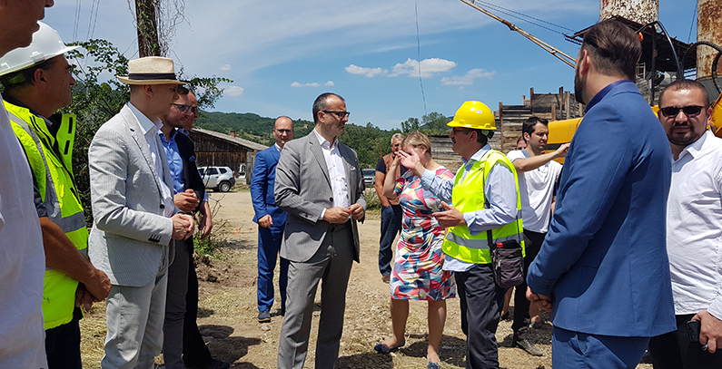 Construction of EUR 6.2 million wastewater treatment plant in Raška kicks off