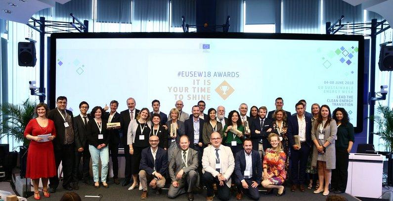 Winners of EU Sustainable Energy Awards 2018 revealed