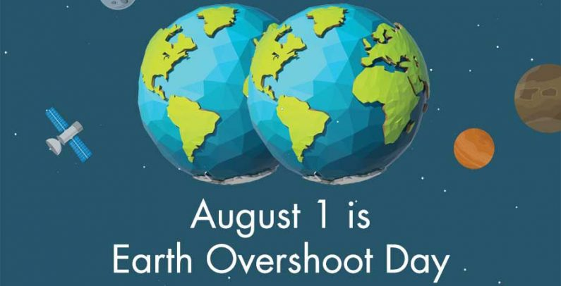 August Is Earth Overshoot Day Balkan Green Energy News - August 1