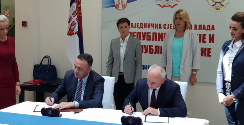 Serbia, Republika Srpska ink memorandum to jointly build HPP Foča, HPP Paunci