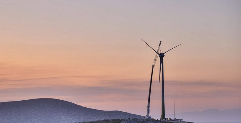 Greece's first wind turbine factory starts production