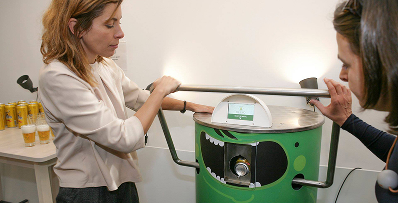 Solagro Smart Recycler targets consumers who lost faith in recycling system