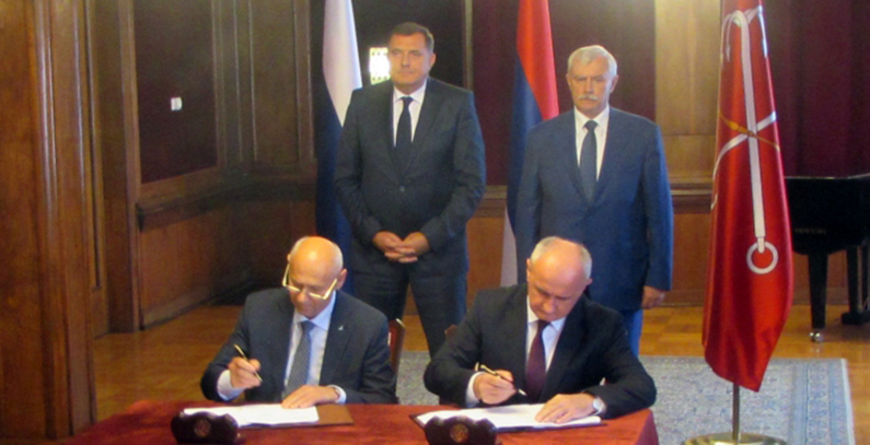 Republika Srpska, Russia's Rakurs-Engineering sign agreement on project for construction of HPPs on Vrbas river