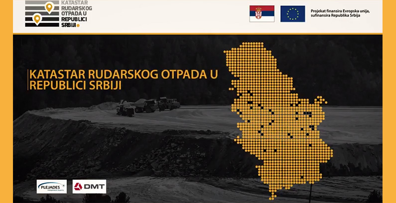 Public presentation of Cadastre of Mining Waste project to be held on October 24