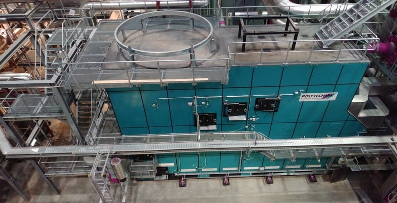 Polytechnik's high-efficiency, low-emission biomass cogeneration plant for secure heat supply