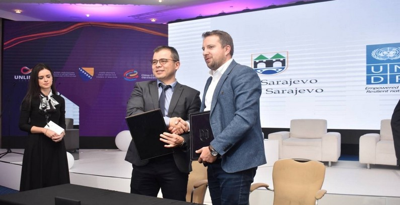 UNDP financing Sarajevo – Smart City Initiative to help improve environmental public services
