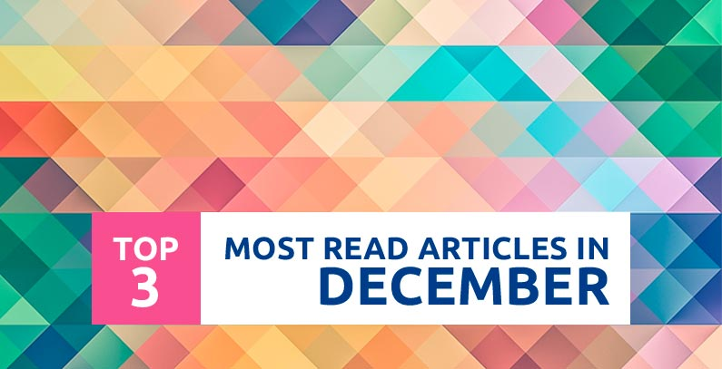 Top 3 Most Read articles in December