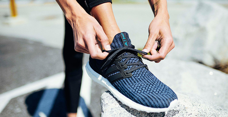 Adidas to boost recycled plastics shoes