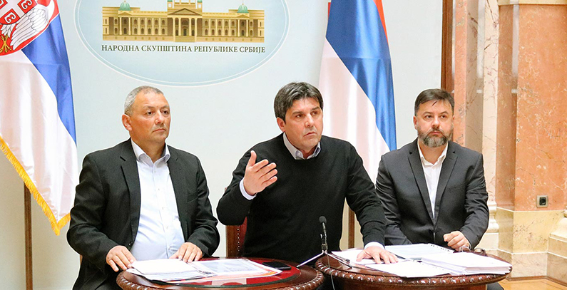 Initiative to protect drinking water under the Constitution launched in Serbian parliament