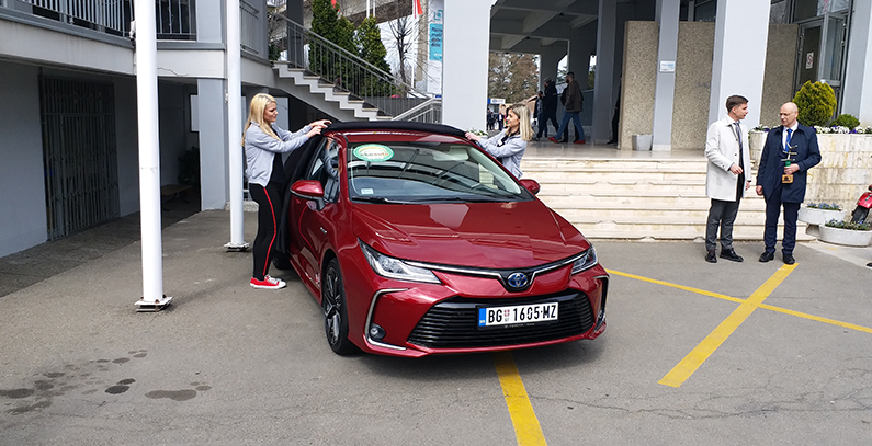 Toyota Corolla 1.8 Hybrid named ECO Car 2019 in Serbia