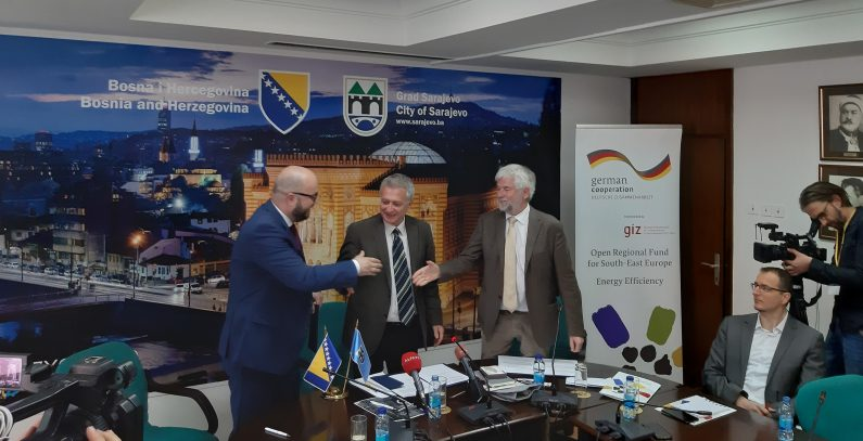 GIZ ORF-EE signs MoU on Sustainable Urban Mobility Plan with City of Sarajevo and Canton Sarajevo