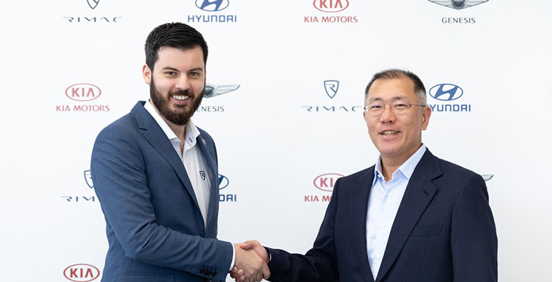 Hyundai Motor, Kia Motors to invest EUR 80 million in Rimac Automobili