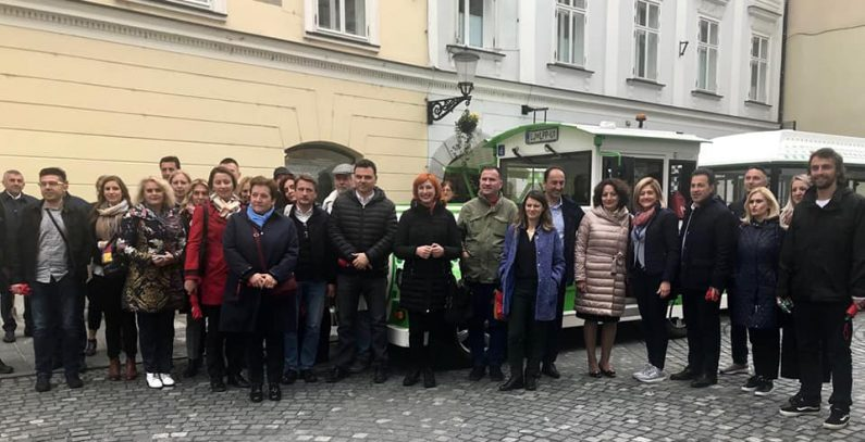 SEE parliamentarians visit Ljubljana – European Green Capital and regional leader in sustainable urban mobility
