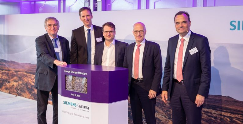 Siemens Gamesa unveils world's first electrothermal energy storage system