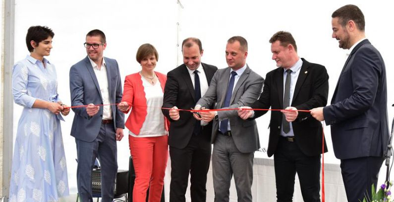 5 MWe biomass cogeneration plant officially opened in the city of Slatina