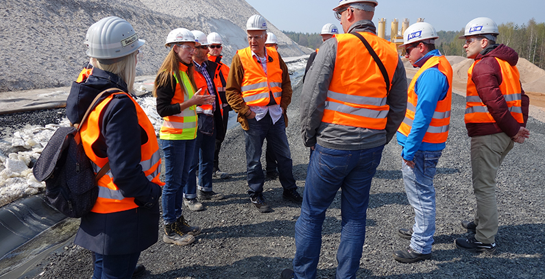 Study tours to Germany – learning from German experience and know-how in mining waste management