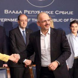 EU water supply Serbia