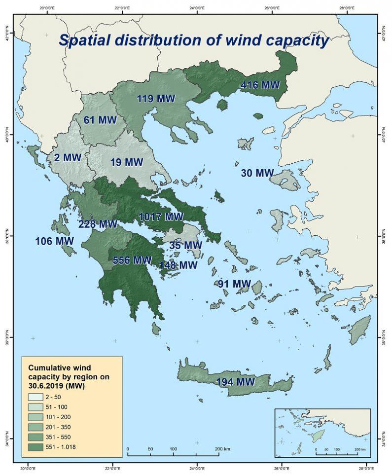 Greece 3 GW wind