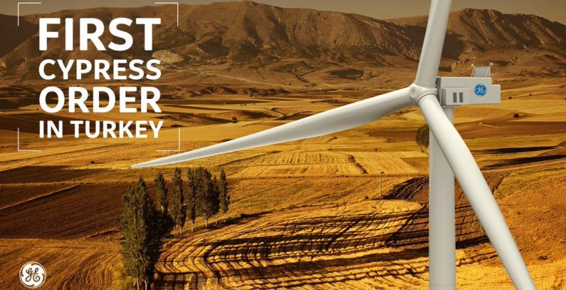 GE Turkey wind turbines