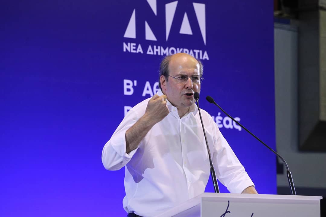 Kostis Hatzidakis new environment and energy minister of Greece