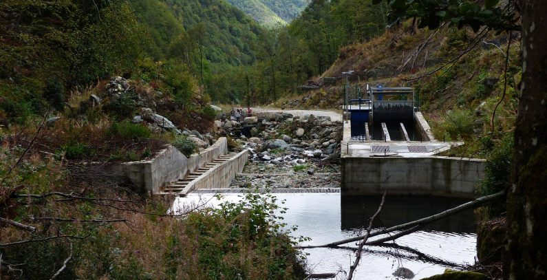 North Macedonia small hydropower plant