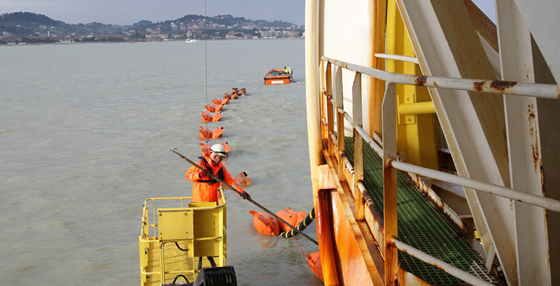 CGES earns EUR 3 million by auctioning capacity of submarine power cable