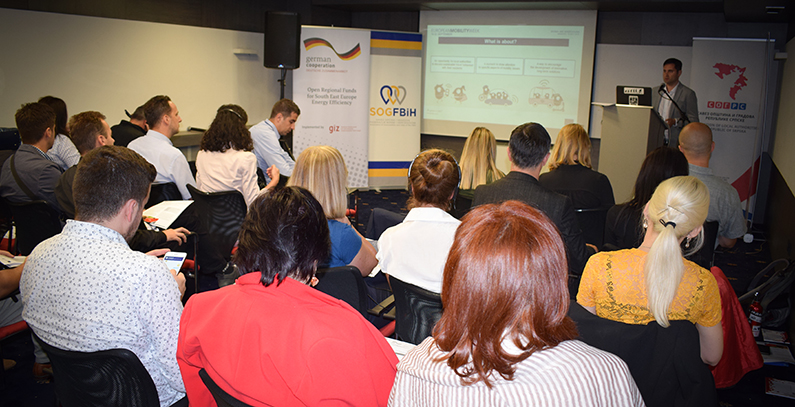 Workshop on European Mobility Week held for 14 municipalities, cities in BiH