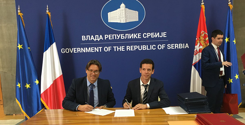 France, Serbia sign documents on Belgrade waste project, Bašaid wind farm, geothermal energy