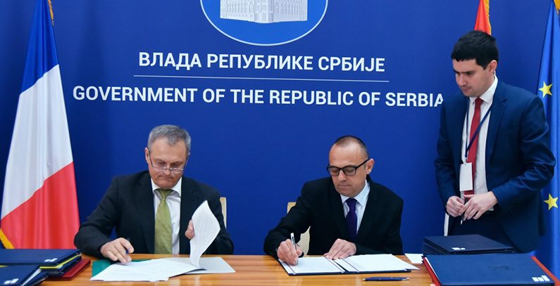 France Serbia Sign Documents On Belgrade Waste Project