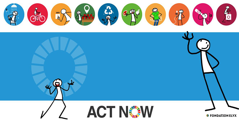 ActNow! – Here's what you can do to save Earth from climate change