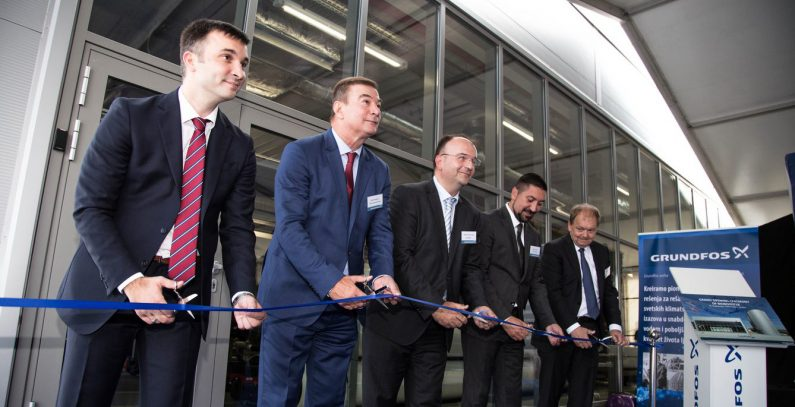 Grundfos unveils BioBooster wastewater treatment facility in Serbia