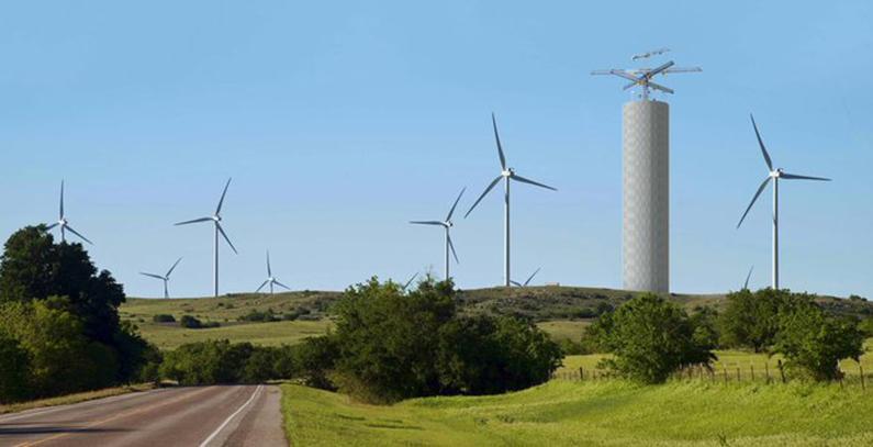 Energy Vault – energy storage made of concrete blocks and cranes