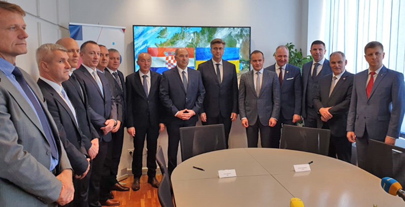 Croatia's HEP, Ukraine's DTEK sign MoU, first step electricity supply from Hungary