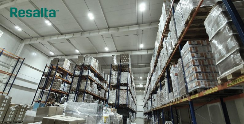 Resalta completes lighting project for bERS Logistics in Bulgaria